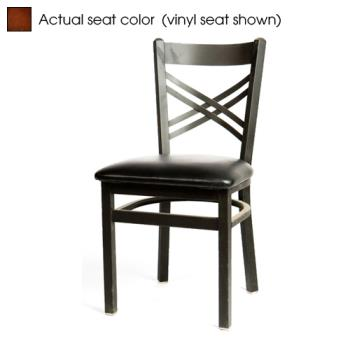 OAKSL2130W - Oak Street - SL2130-W - Crossback Chair w/Walnut Wood Seat Product Image