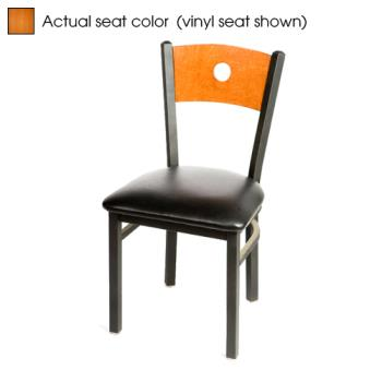 OAKSL2150BC - Oak Street - SL2150-B-C - Bullseye Cherry Wood Back & Seat Chair Product Image