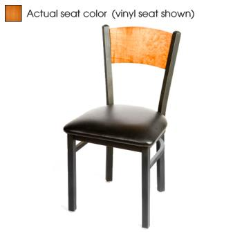 OAKSL2150PC - Oak Street - SL2150-P-C - Plain Cherry Wood Back & Seat Chair Product Image