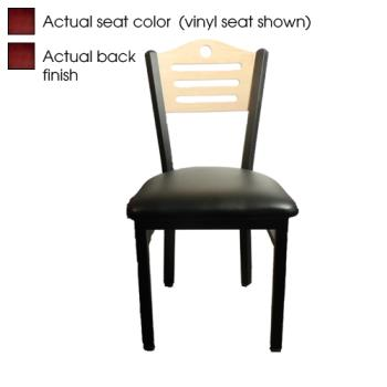OAKSL2150SHM - Oak Street - SL2150-SH-M - Shoreline Mahogany Wood Back & Seat Chair Product Image