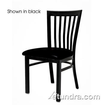 OAKSL4279BLK - Oak Street - SL4279-BLK - Jailhouse Chair w/Black Vinyl Seat Product Image