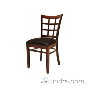 OAKWC017MH - Oak Street - WC017-MH - Windowpane Chair w/Mahogany Wood Seat Product Image