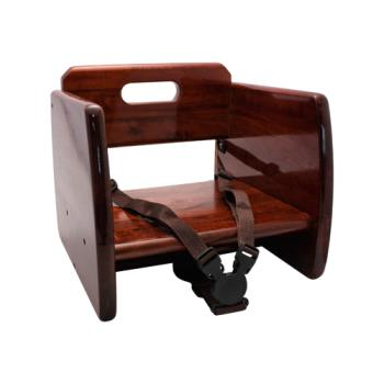 86295 - GET Enterprises - BS-200-M - Mahogany Wood Booster Seat Product Image