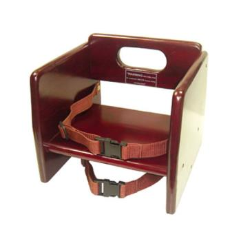 WINCHB703 - Winco - CHB-703 - Mahogany Finish Booster Seat Product Image