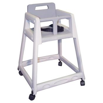 86387 - Commercial - Gray Plastic High Chair Product Image