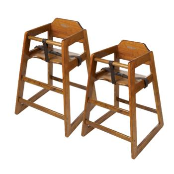 GETHC100W2 - GET Enterprises - HC-100-W-2 - Walnut High Chair Product Image
