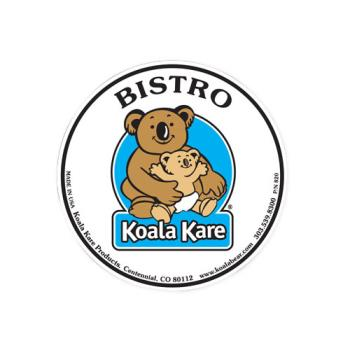 69201 - Koala - 820 - Bistro High Chair Label Product Image