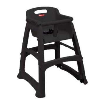 86333 - Rubbermaid - 7805 - Black High Chair Product Image