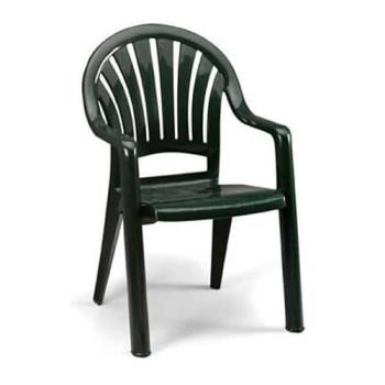 GFX49092078 - Grosfillex - 49092078 - Amazon Green Pacific Fanback Armchair - 16 pack Product Image