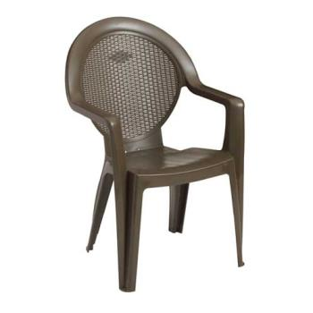 GFX99421037 - Grosfillex - 99421037 - Bronze Mist Trinidad Armchair - 4 Pack Product Image