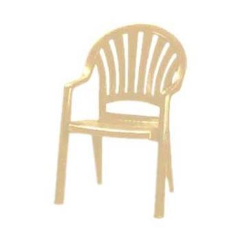 GFXUS092066 - Grosfillex - US092066 - Sandstone Pacific Fanback Armchair - 4 pack Product Image