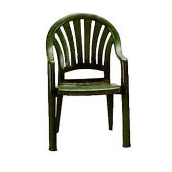 GFXUS092078 - Grosfillex - US092078 - Amazon Green Pacific Fanback Armchair - 4 pack Product Image