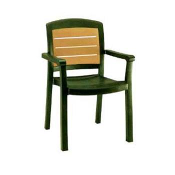 GFXUS453078 - Grosfillex - US453078 - Amazon Green Aquaba Classic Dining Armchair - 4 pack Product Image