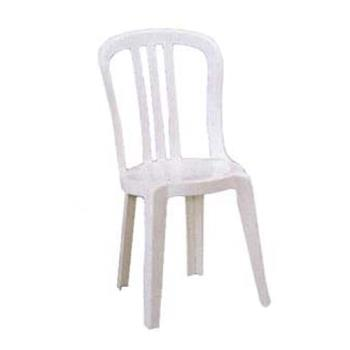 GFXUS495004 - Grosfillex - US495004 - White Miami Bistro Sidechair - 4 Pack Product Image