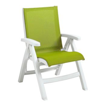 GFXCT393004 - Grosfillex - CT393004 - Belize Fern Green Midback Chair Product Image
