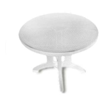 "GFXUS146004 - Grosfillex - US146004 - White 38"" Vega Round Table - 14 Pack Product Image"