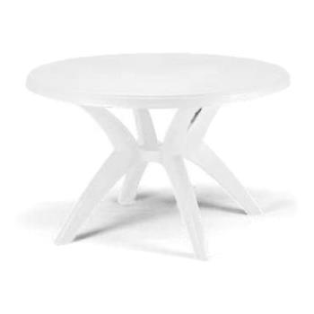 GFXUS526704 - Grosfillex - US526704 - 46 in Round White Ibiza Table Product Image