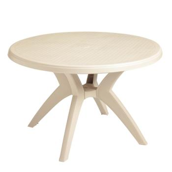 GFXUS526766 - Grosfillex - US526766 - 46 in Round Sandstone Ibiza Table Product Image