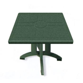 "GFXUS810078 - Grosfillex - US810078 - Amazon Green 32"" Vega Square Table - 12 Pack Product Image"