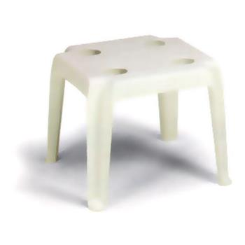 GFX99018004 - Grosfillex - 99018004 - 18 in Square White Oasis Low Table Product Image
