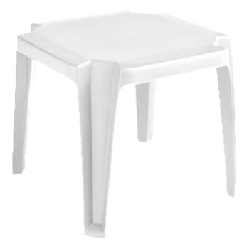 GFXUS529804 - Grosfillex - US529804 - White Miami Low Table - 6 Pack Product Image