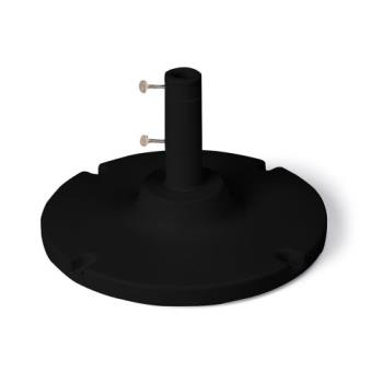 GFX98600617 - Grosfillex - US600617 - Black 35 lb. Y-Leg Table Umbrella Base Product Image