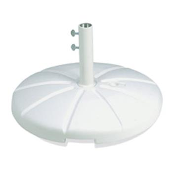 GFX98602104 - Grosfillex - US602104 - White Resin Umbrella Base Product Image