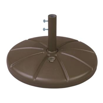 GFX98602137 - Grosfillex - US602137 - Bronze Mist Resin Umbrella Base Product Image