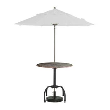 GFX98380431 - Grosfillex - 98380431 - White 7 1/2' Windmaster Umbrella Product Image