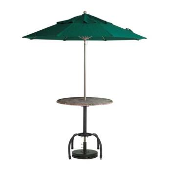 GFX98382031 - Grosfillex - 98382031 - 7 1/2 ft Forest Green Windmaster Umbrella Product Image