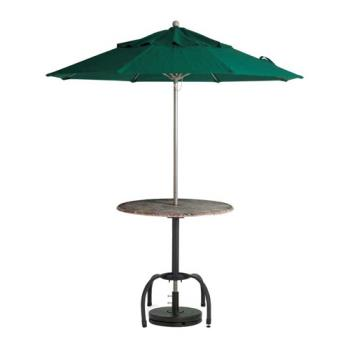 GFX98822031 - Grosfillex - 98822031 - Forest Green 9' Windmaster Umbrella Product Image