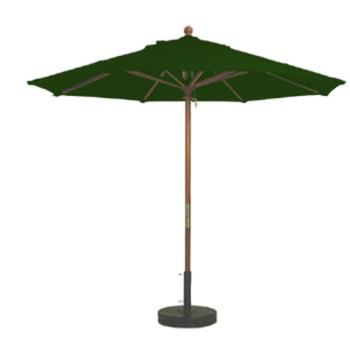 GFX98912031 - Grosfillex - 98912031 - Forest Green 9 ft Market Umbrella Product Image