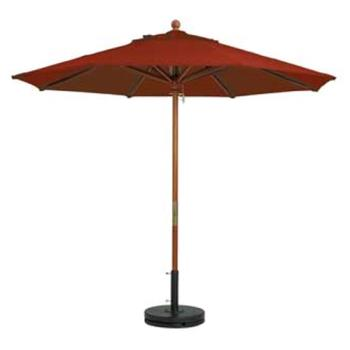 GFX98918231 - Grosfillex - 98918231 - Terra Cotta 9' Market Umbrella Product Image