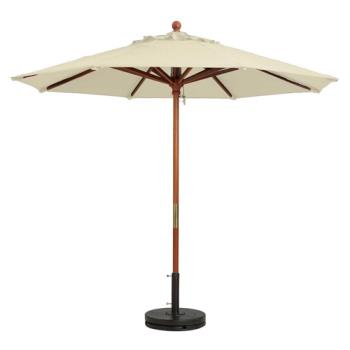 GFX98940331 - Grosfillex - 98940331 - 7 ft Khaki Market Umbrella Product Image