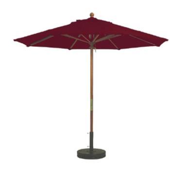 Grosfillex 98942731 7 Ft Burgundy Market Umbrella