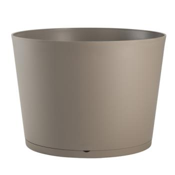 GFXUS258181 - Grosfillex - US258181 - 20 in Taupe Tokyo Patio Planter Product Image