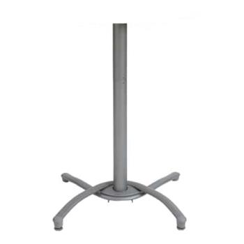 GFX52812009 - Grosfillex - 52812009 - Silver Gray Bar Height Table Base Product Image