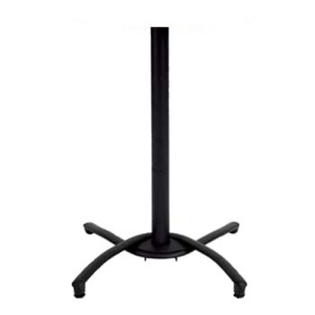 GFX52812017 - Grosfillex - 52812017 - Black Bar Height Table Base Product Image