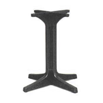 GFX55631802 - Grosfillex - 55631802 - Charcoal 1000 Pedestal Table Base Product Image