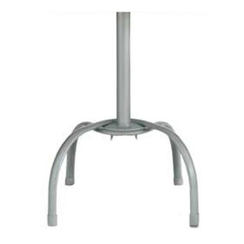 GFX99528109 - Grosfillex - 99528109 - Silver Gray Bar Height Tulip Table Base - 2 Pack Product Image