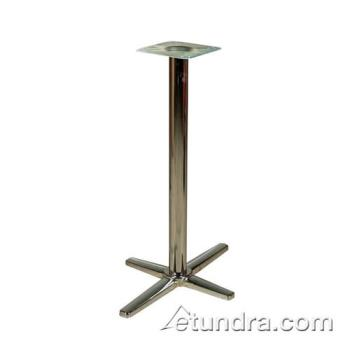 "OAKB522CHRBAR - Oak Street - B522CHR-BAR - 5"" x 22"" Chrome Bar Height Table Base Product Image"