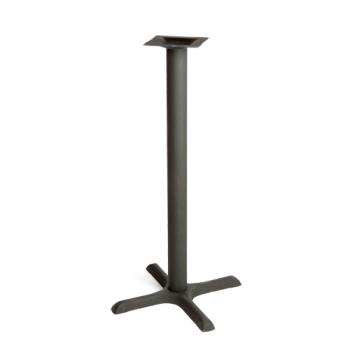 OAKB22BAR - Oak Street Mfg. - B22-BAR - 22 in x 22 in Cross Base Bar Height Table Base Product Image