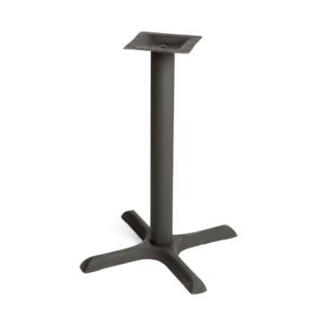 OAKB22STD - Oak Street Mfg. - B22-STD - 22 in x 22 in Cross Base Standard Height Table Base Product Image