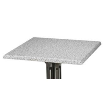 "GFX99525102 - Grosfillex - 99525102 - Tokyo Stone 24"" Square Table Top Product Image"