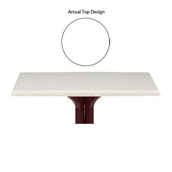 GFX99851204 - Grosfillex - 99851204 - 48 in x 32 in White Table Top w/ Umbrella Hole Product Image