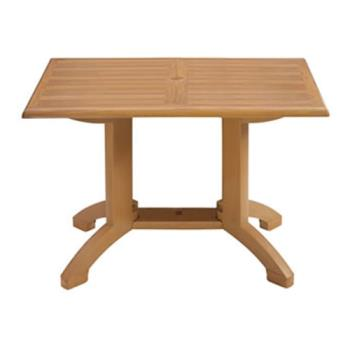GFXUS240808 - Grosfillex - US240808 - 48 in x 32 in Winston Square Table Product Image