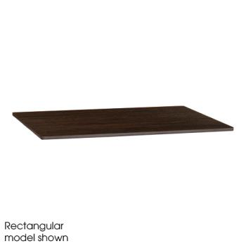 "GFXUS36HP91 - Grosfillex - US36HP91 - 36"" Round Wenge HPL Tabletop Product Image"