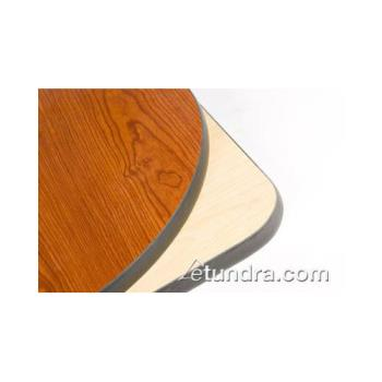"OAKCN24R - Oak Street - CN24R - 24"" x 1"" Round Cherry/Natural Table Top Product Image"
