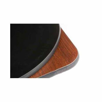 "OAKMB3030 - Oak Street - MB3030 - 30"" x 30"" x 1"" Mahogany/Black Table Top Product Image"