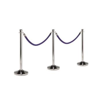 AMMRSCLC - American Metalcraft - RSCLC - Polished Chrome Stanchion Product Image